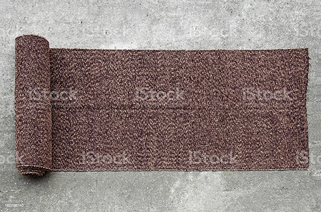 Wool carpet royalty-free stock photo