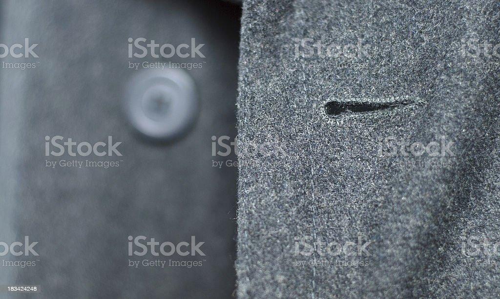 Wool coat royalty-free stock photo