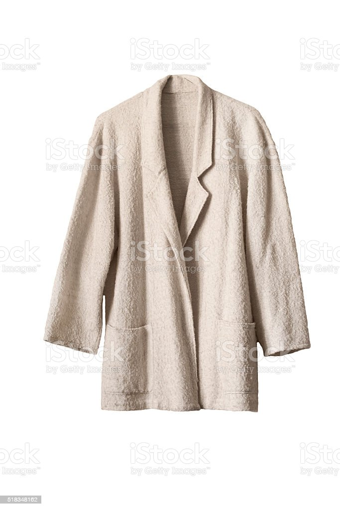 Wool coat stock photo