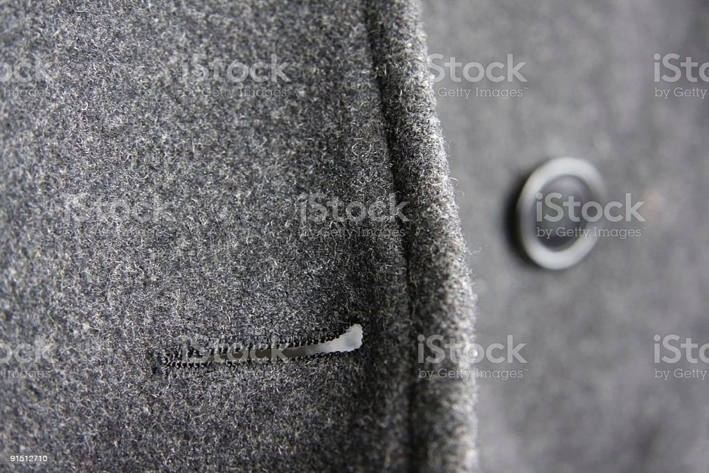 wool coat royalty-free stock photo