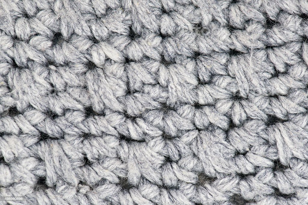 Wool knitted fabric texture background stock photo