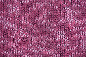 Wool knitting texture