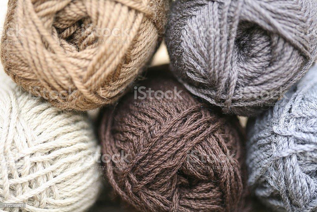 Wool royalty-free stock photo