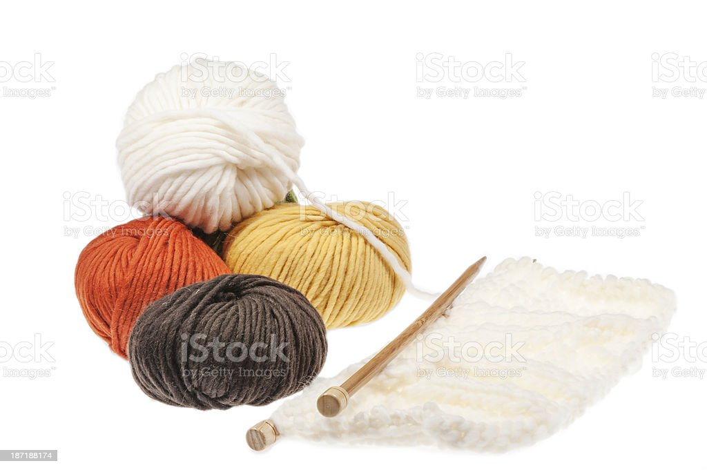 Wool royalty-free stock photo