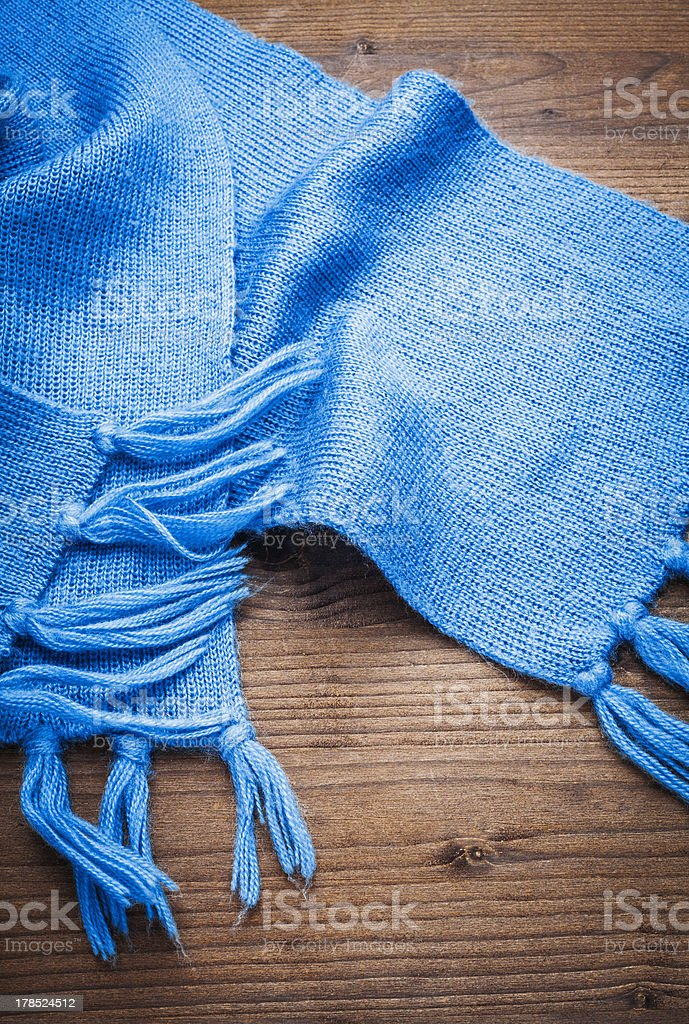 wool scarf royalty-free stock photo