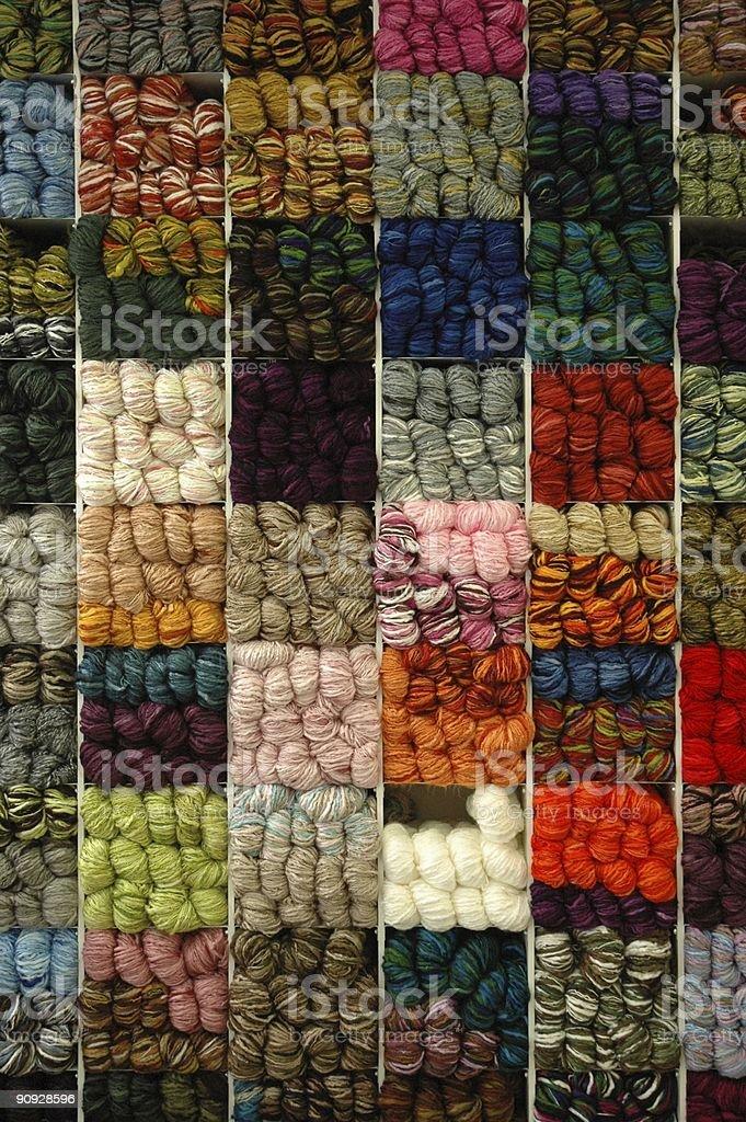 Wool Shop stock photo
