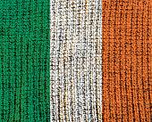 Wool Textured Flag - Ireland