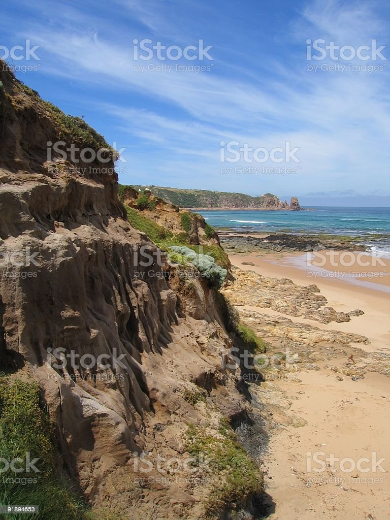 Woolamai beach royalty-free stock photo