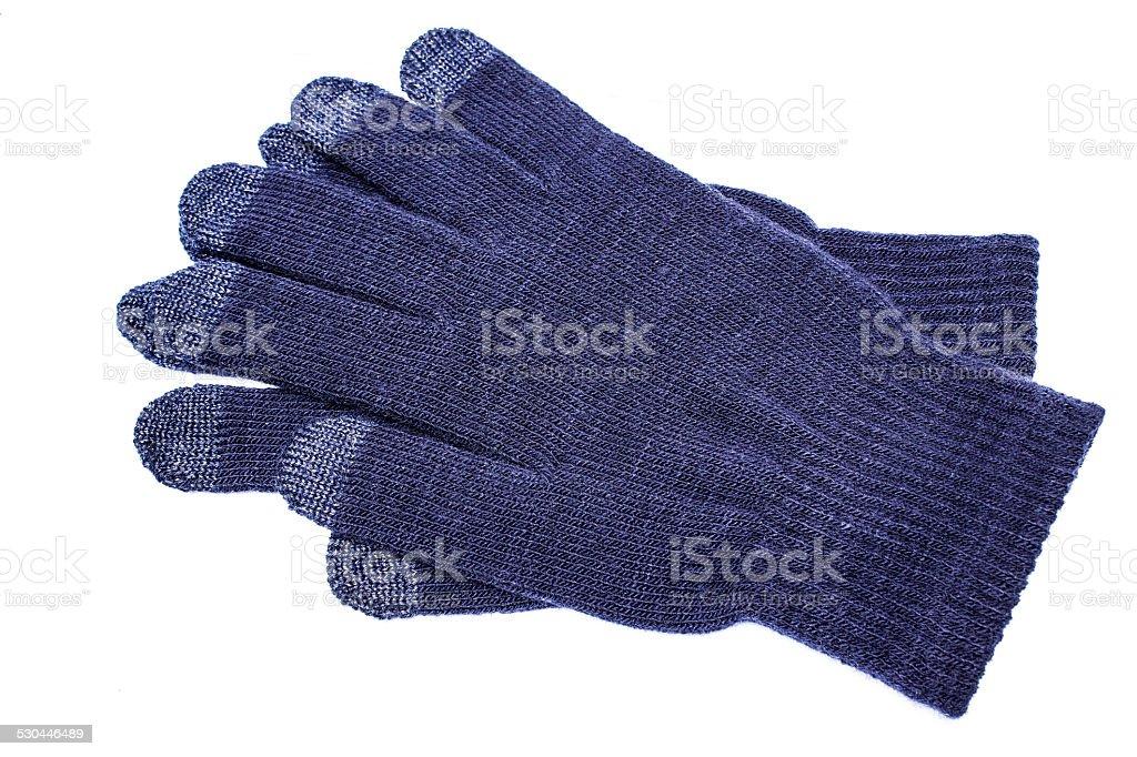 Woolen guantes foto de stock libre de derechos