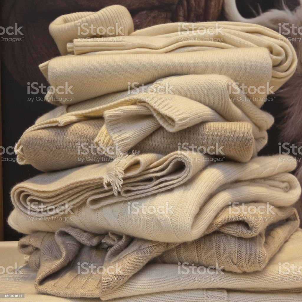 woolens royalty-free stock photo