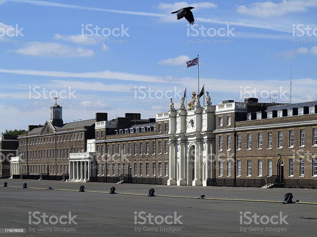 Woolwich Arsenal, London stock photo