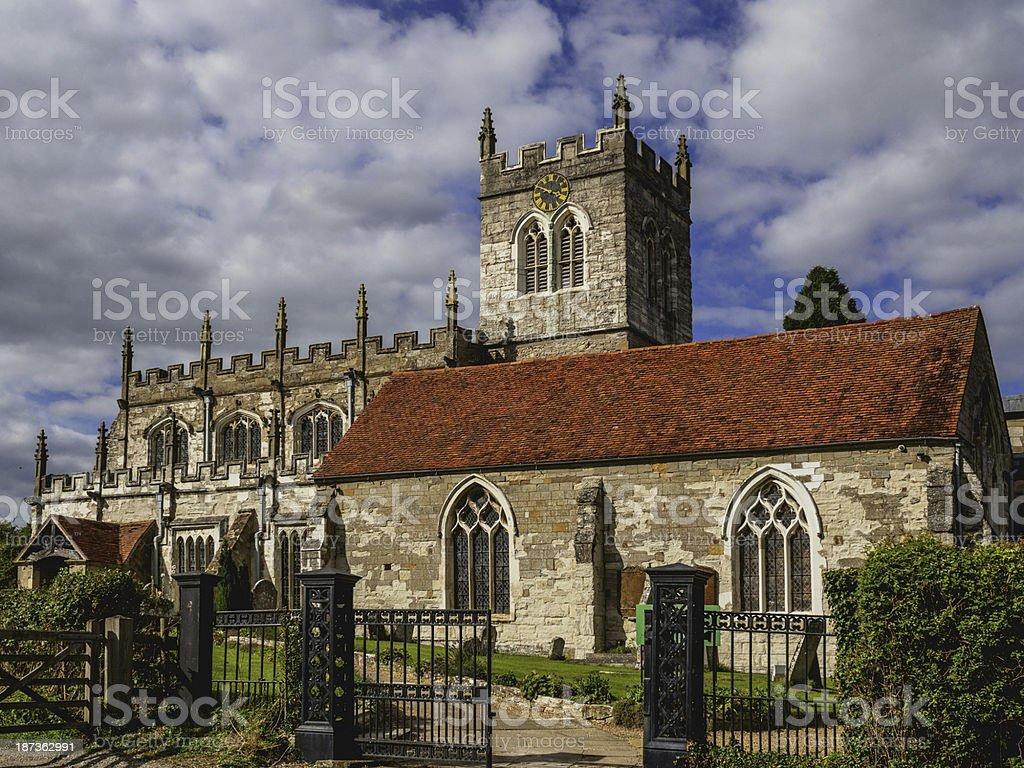 wootten wawen church royalty-free stock photo
