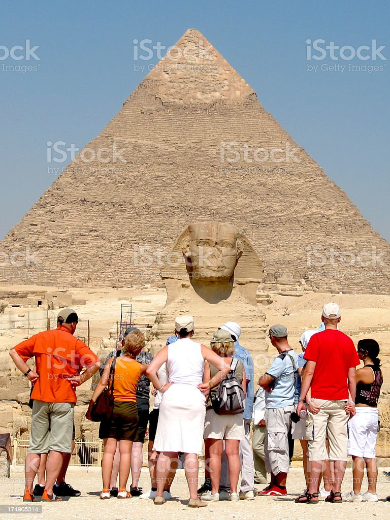 Woow! great pharaohs work stock photo