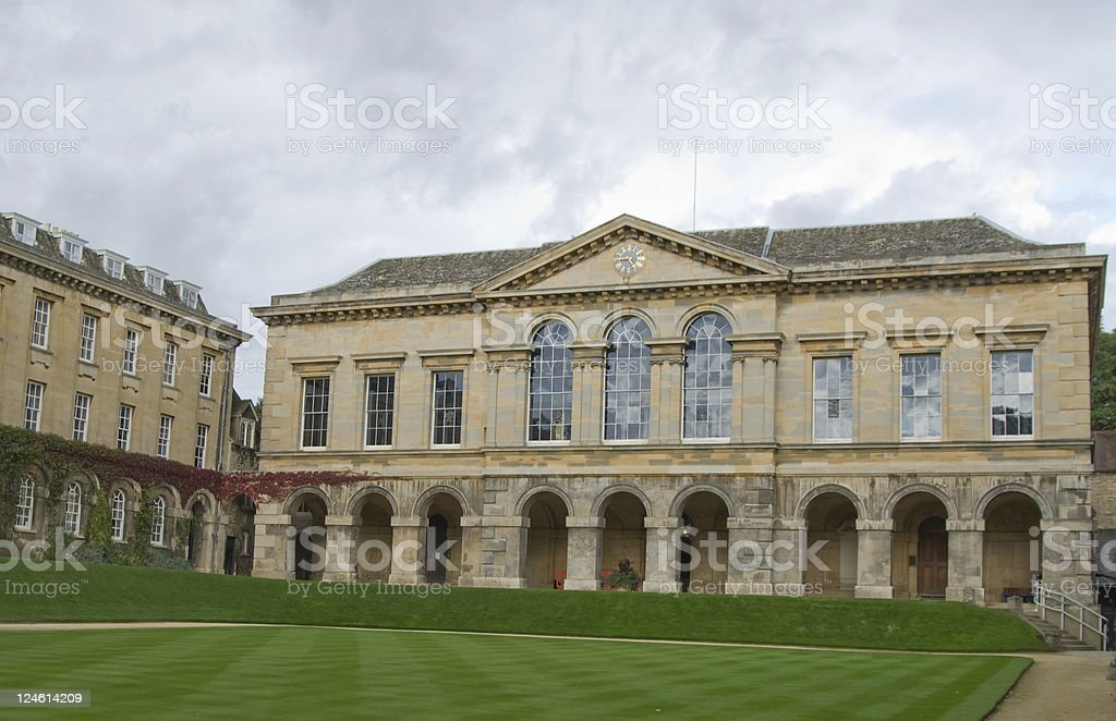 Worcester College, Oxford University stock photo
