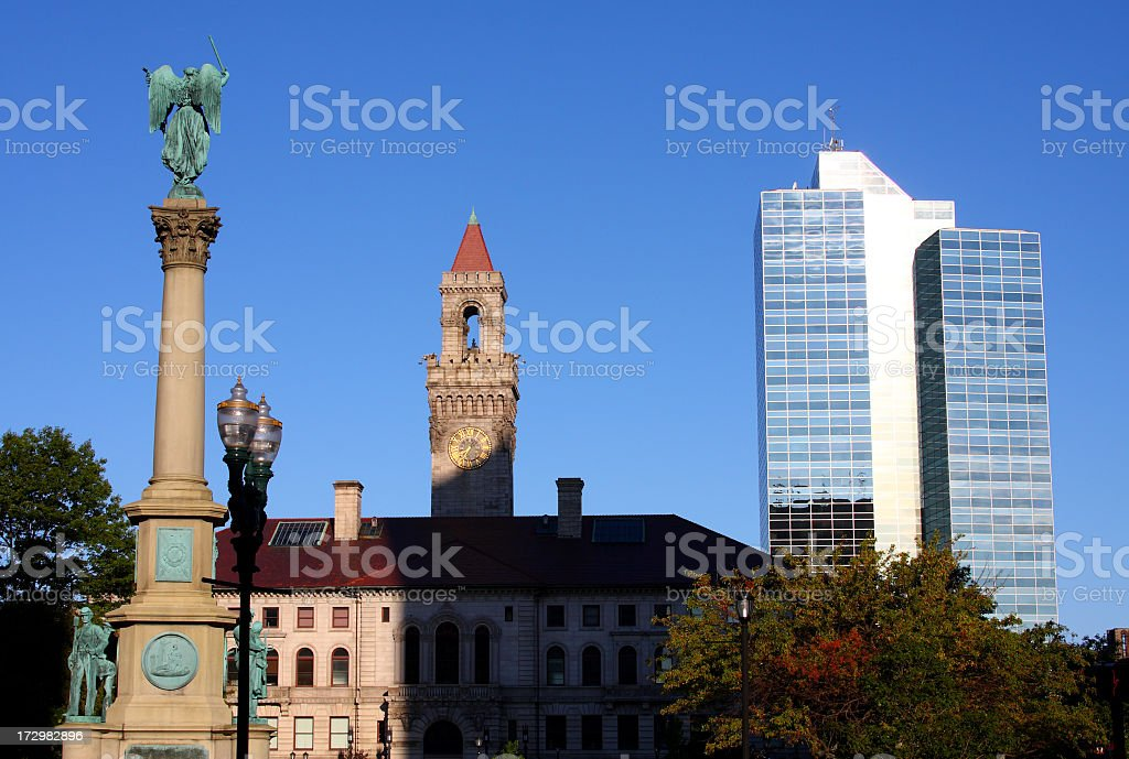 Worcester, Massachusetts royalty-free stock photo