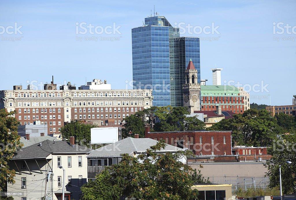 Worcester, Massachusetts stock photo