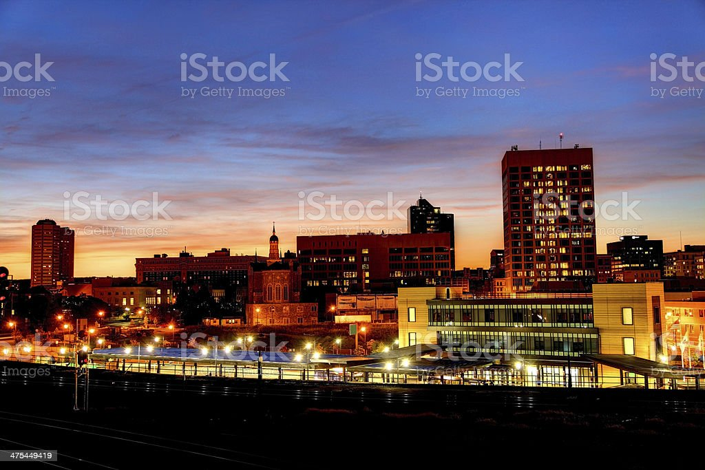 Worcester, Massachusetts stock photo
