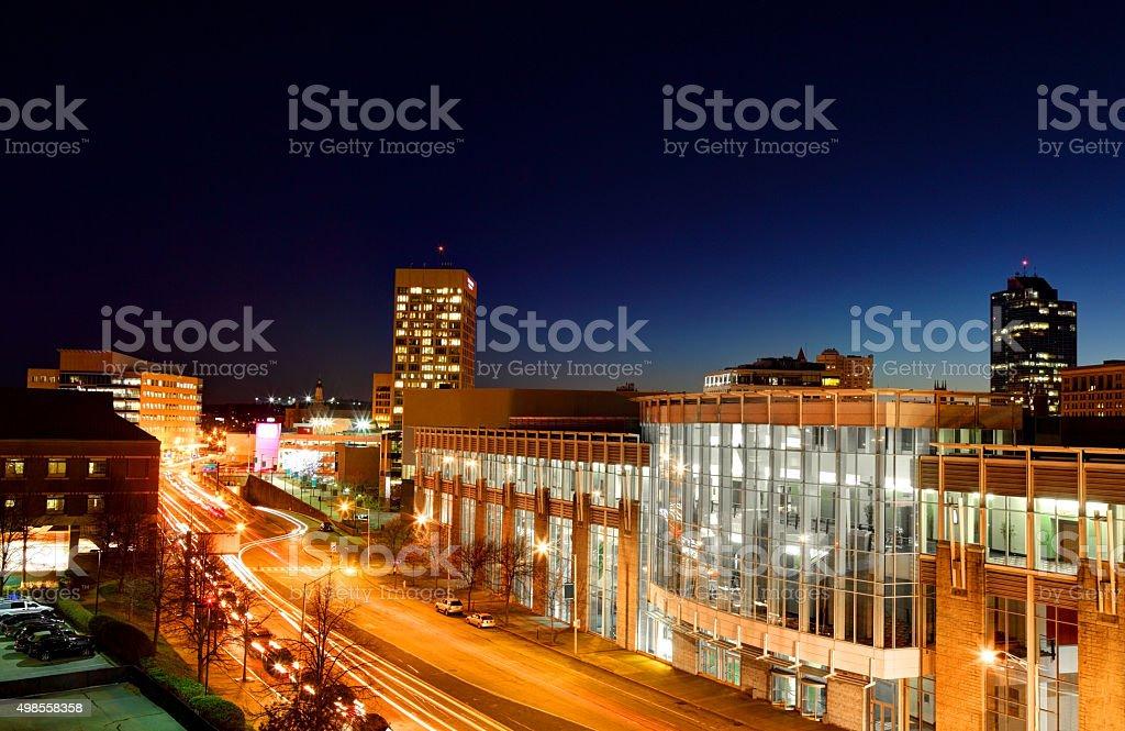 Worcester Massachusetts stock photo