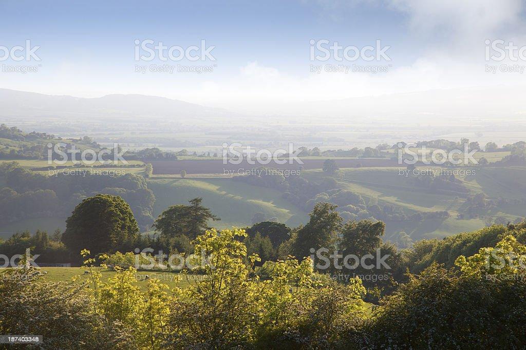 Worcestershire landscape royalty-free stock photo