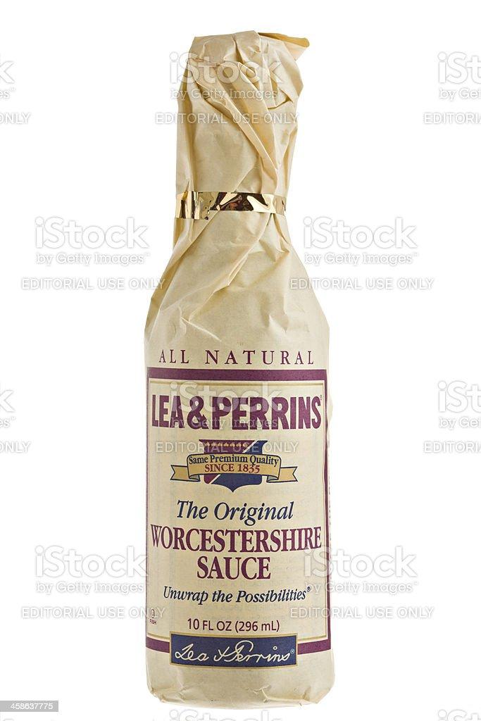 Worcestershire Sauce stock photo