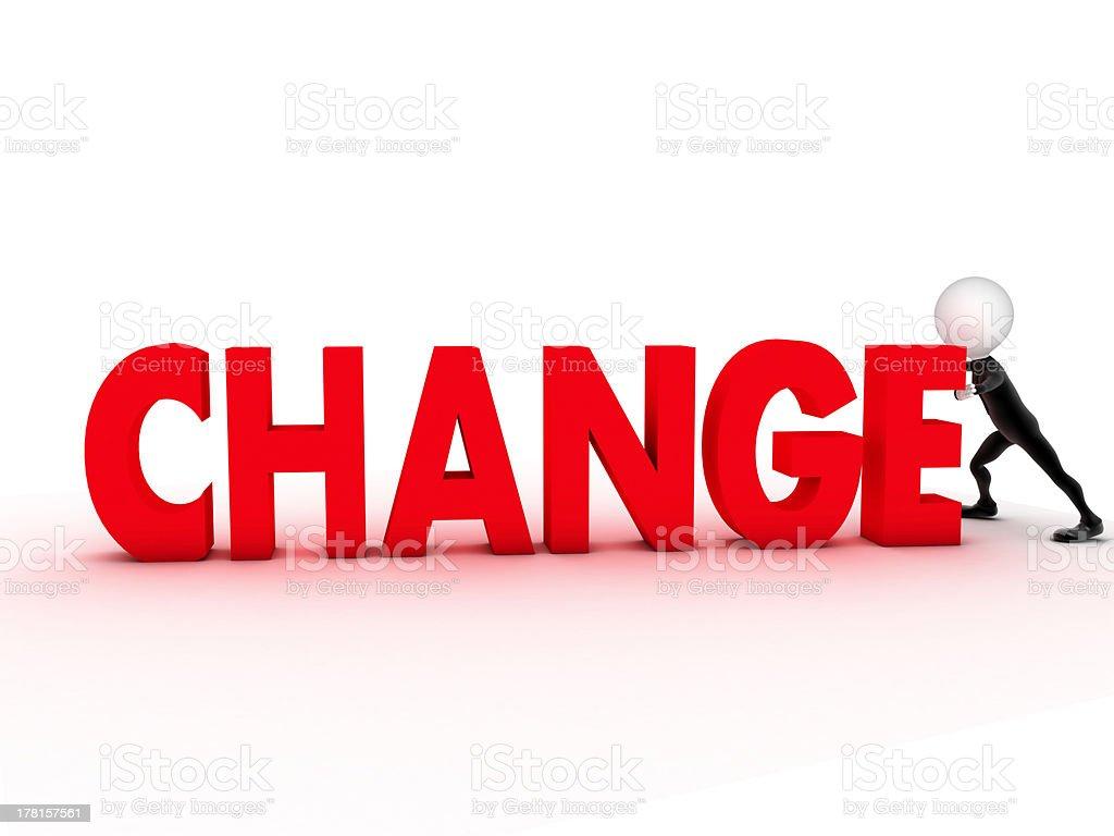 word change royalty-free stock photo