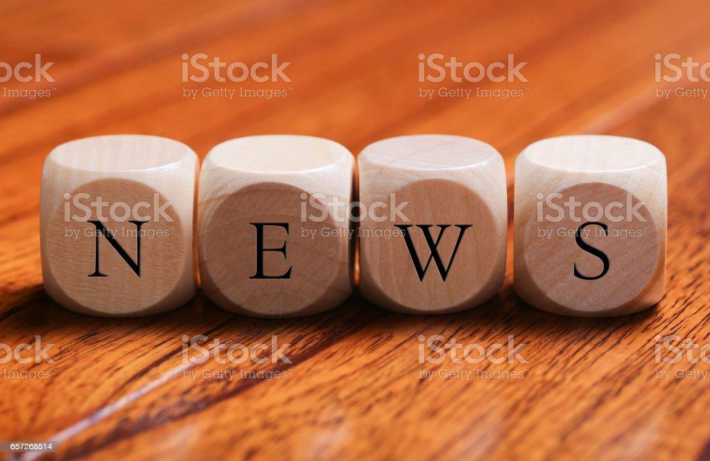 NEWS Word Concept stock photo