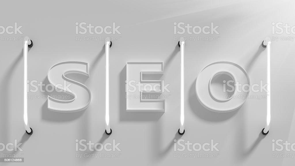 SEO Word stock photo