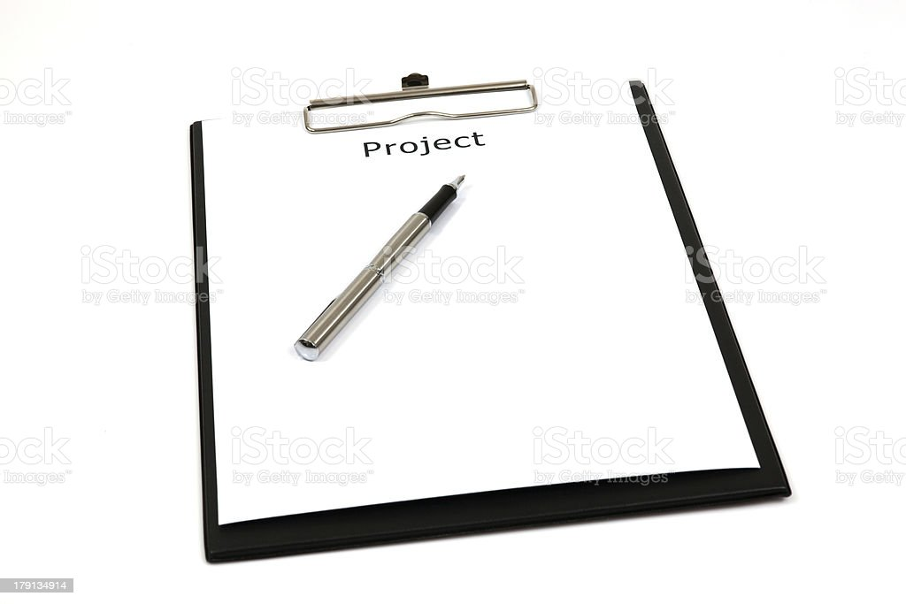 Word projects stock photo
