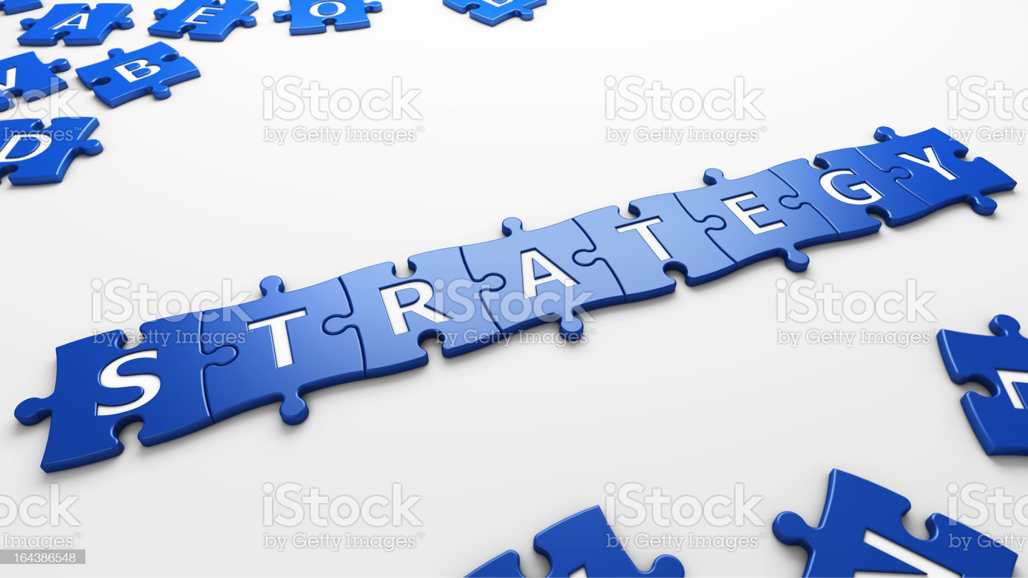 word strategy royalty-free stock vector art