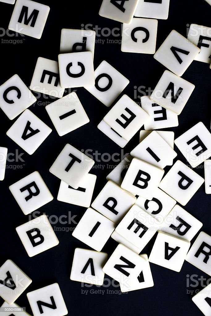 Words game stock photo