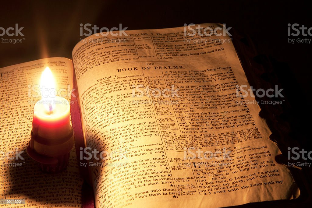 Words of Enlightenment stock photo