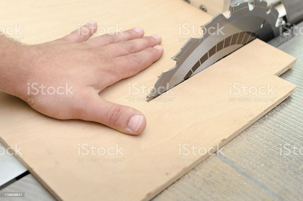 Work Accident stock photo