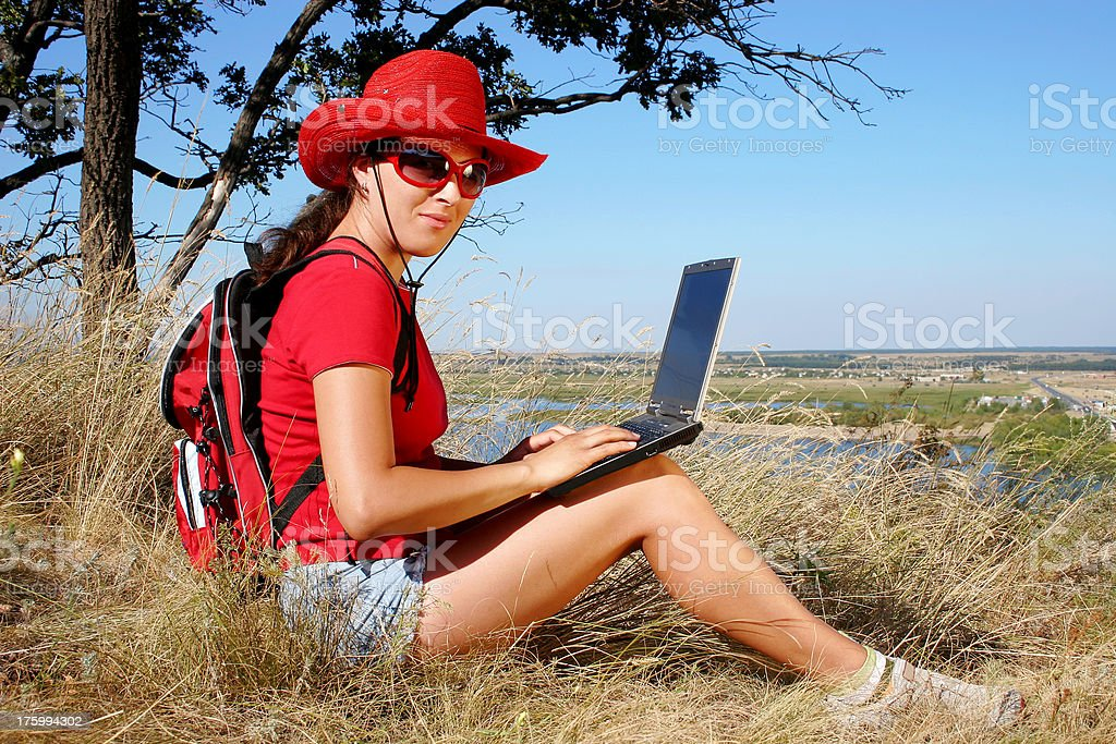 Work & Travel royalty-free stock photo