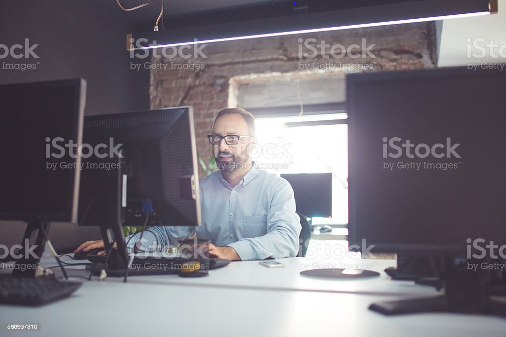 Work and just work stock photo