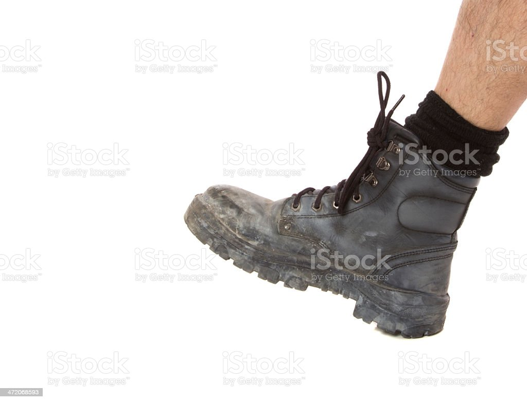 Work Boot stock photo