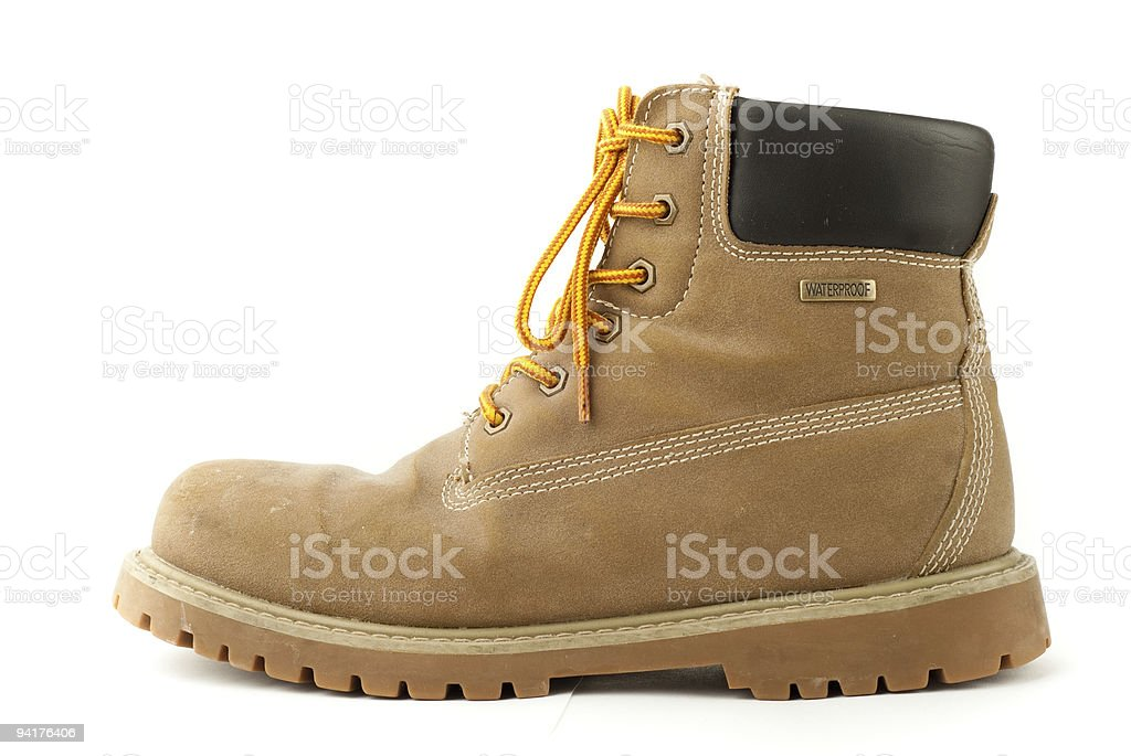 Work Boot royalty-free stock photo
