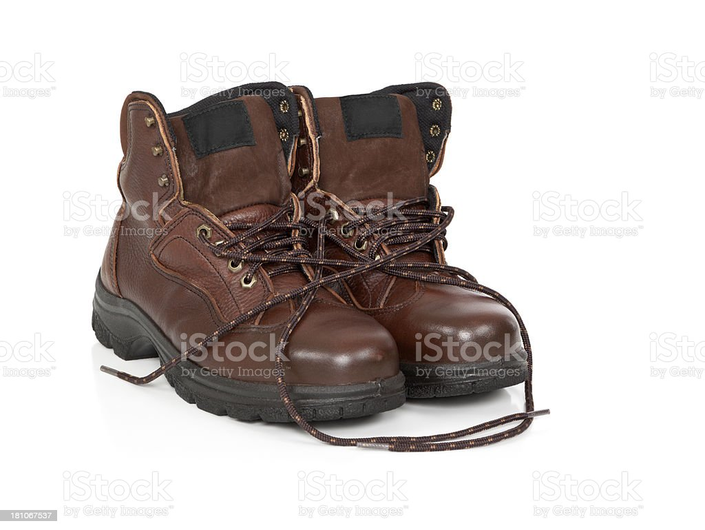 Work Boots royalty-free stock photo