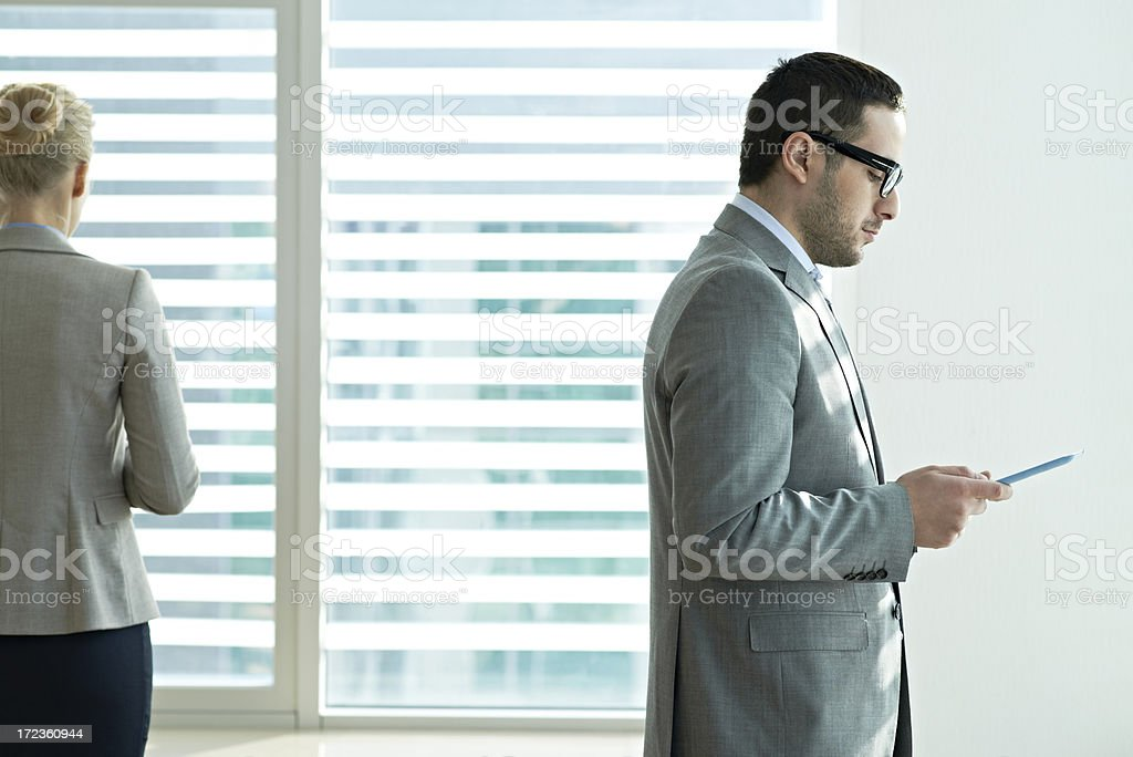 Work day at office royalty-free stock photo