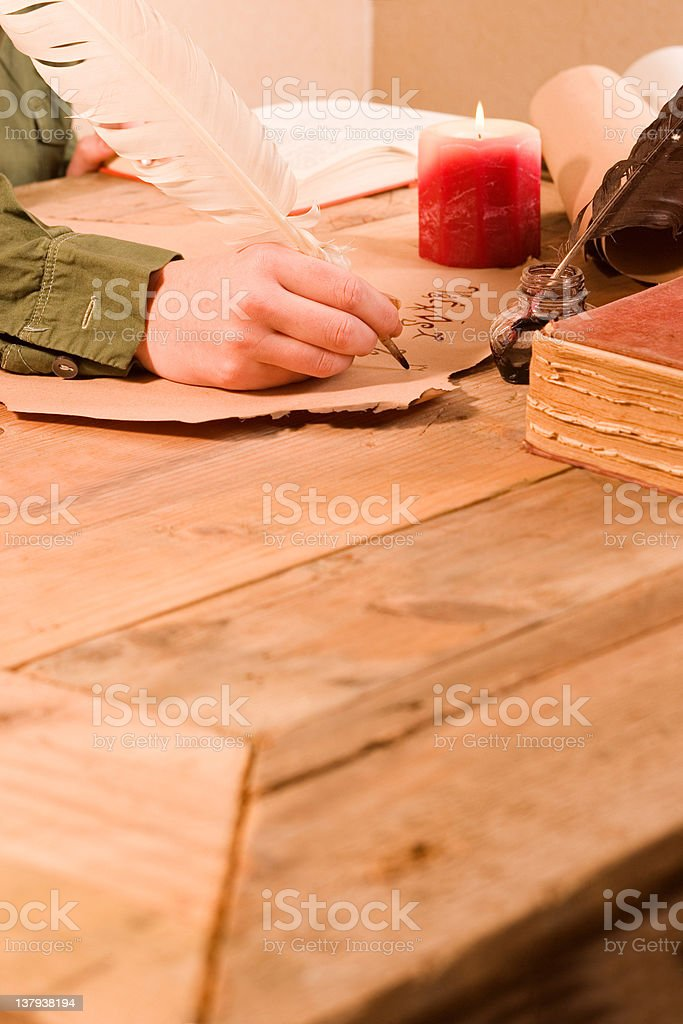Work desk royalty-free stock photo