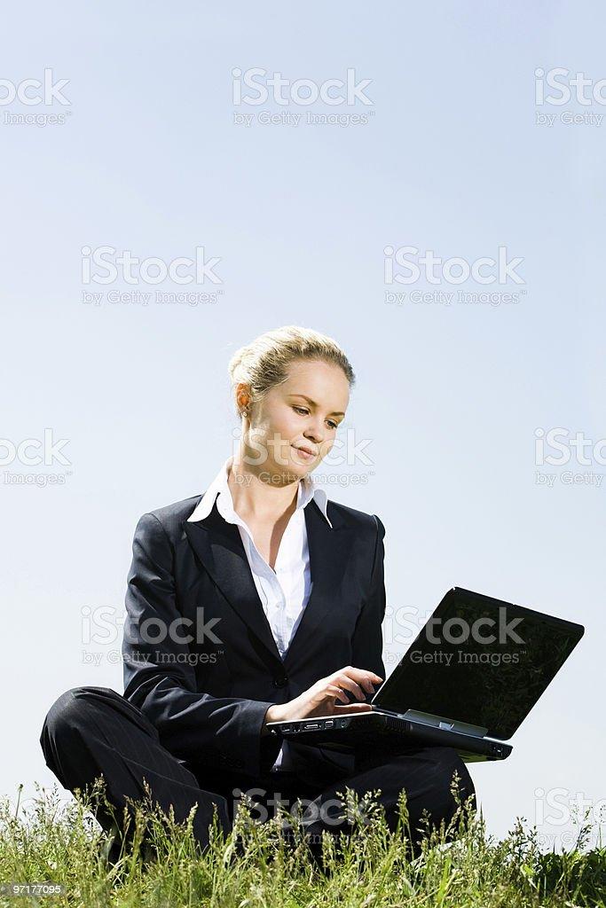 Work everywhere royalty-free stock photo