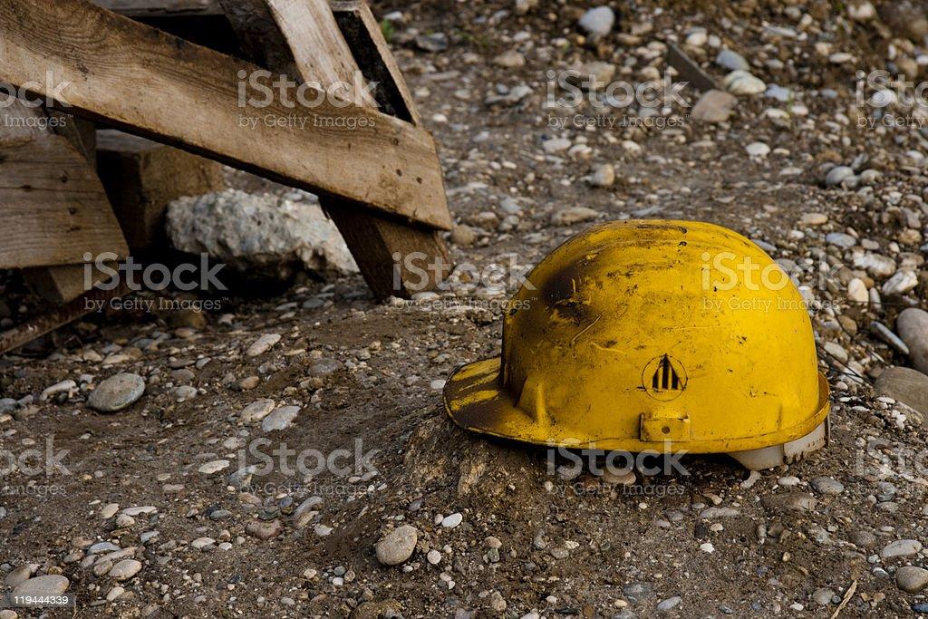 Work helmet royalty-free stock photo