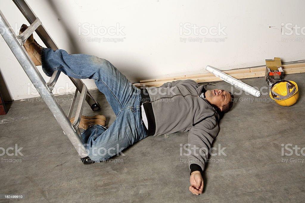 Work Injury royalty-free stock photo