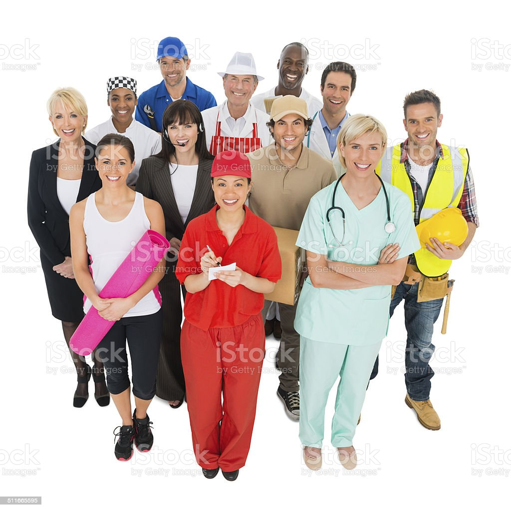 Work Occupations stock photo