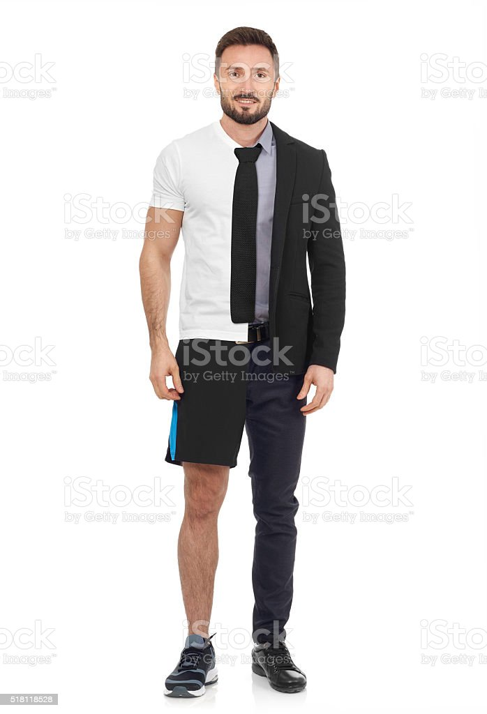Work or workout? stock photo