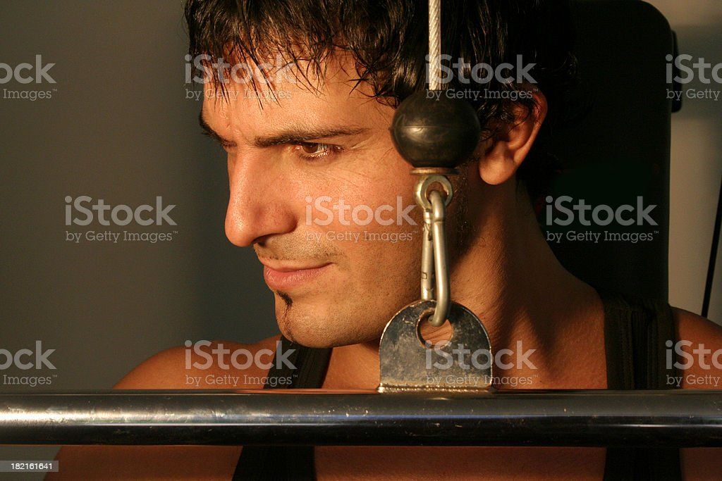 Work Out royalty-free stock photo