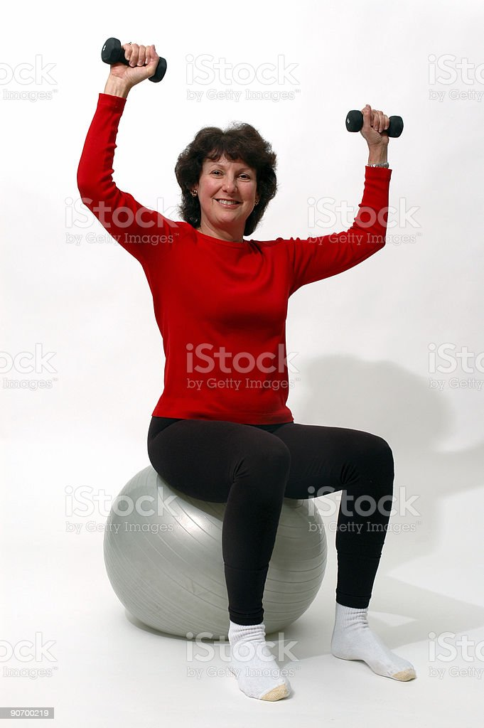 work out time royalty-free stock photo