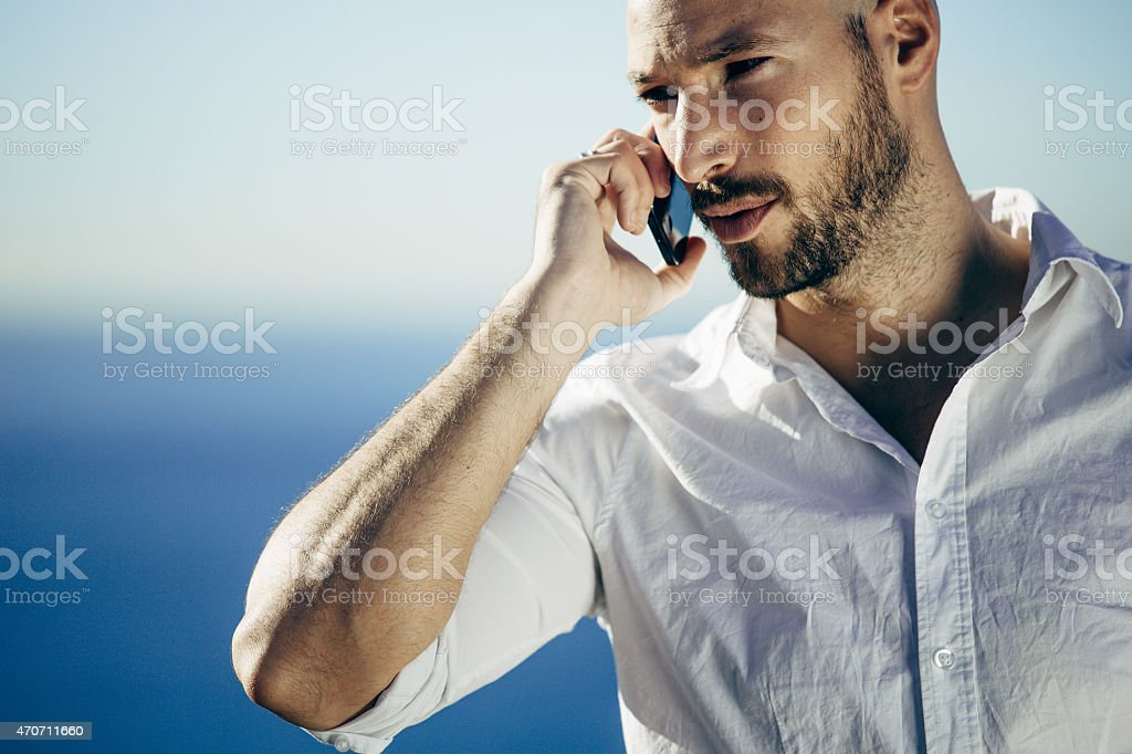 Work outdoors stock photo