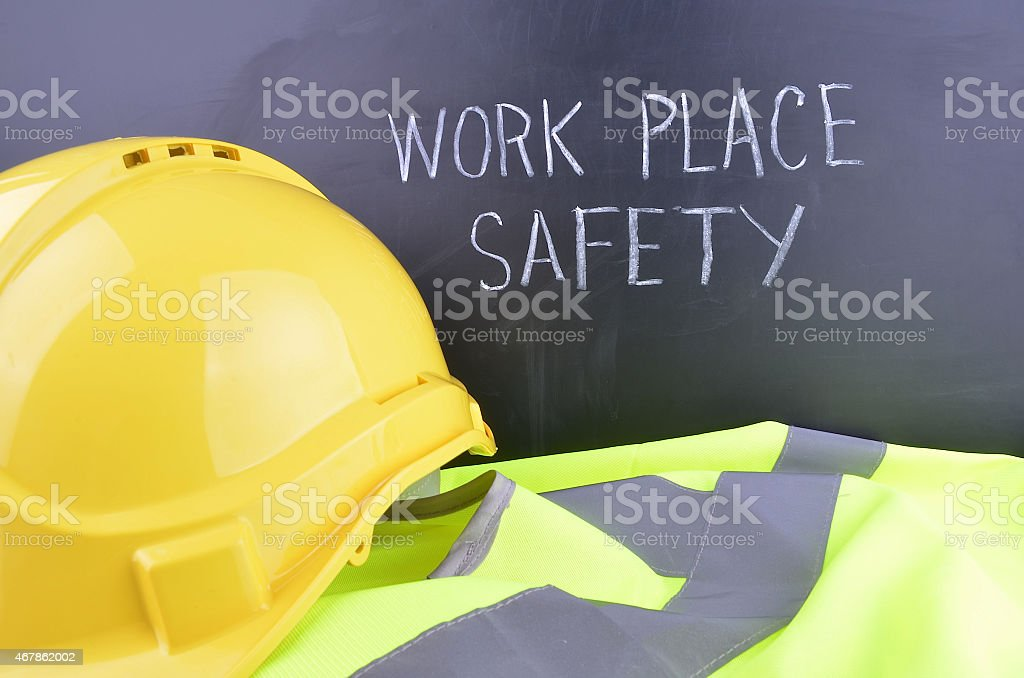 Work Place Safety stock photo