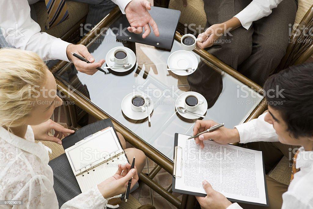 Work planning royalty-free stock photo