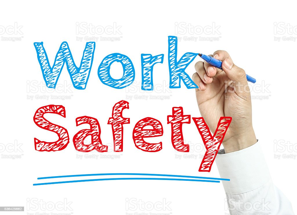 Work Safety stock photo